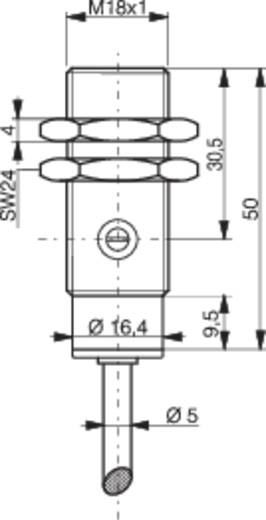 Laser-Reflexions-Lichttaster LTS-1180L-103 Contrinex 10 - 36 V/DC 1 St.