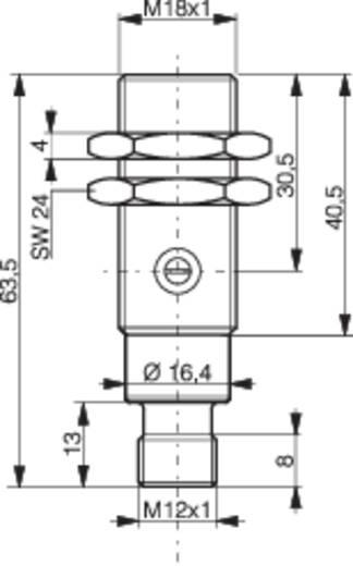 Laser-Reflexions-Lichttaster LTS-1180L-103-516 Contrinex 10 - 36 V/DC 1 St.