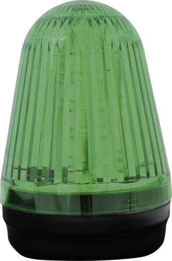 Signalleuchte LED ComPro Blitzleuchte BL90 2F Grün Dauerlicht, Blitzlicht 24 V/DC, 24 V/AC