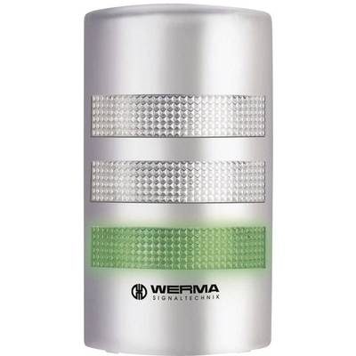 Signalsäule LED Werma Signaltechnik 691.400.55 Dauerlicht, Blinklicht 24 V/DC 85 dB Preisvergleich