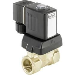 Servem řízený ventil Bürkert 221607, spojka G 1/2 Jmenovitá vzdálenost 10 mm Materiál pouzdra mosaz