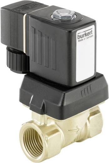 Servogesteuertes Ventil Bürkert 221601 230 V/AC G 3/8 Muffe Nennweite 10 mm Gehäusematerial Messing Dichtungsmaterial N