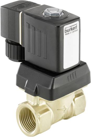 Servogesteuertes Ventil Bürkert 221609 230 V/AC G 1/2 Muffe Nennweite 10 mm Gehäusematerial Messing Dichtungsmaterial N