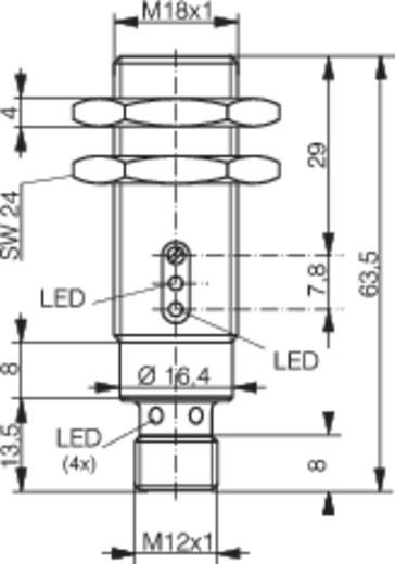 Reflexions-Lichttaster LTS-1180-103 Contrinex 10 - 36 V/DC 1 St.