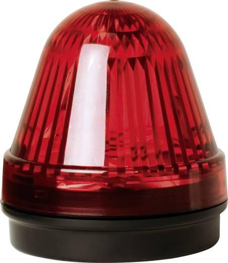 Signalleuchte LED ComPro Blitzleuchte BL70 2F Rot Dauerlicht, Blitzlicht 24 V/DC, 24 V/AC