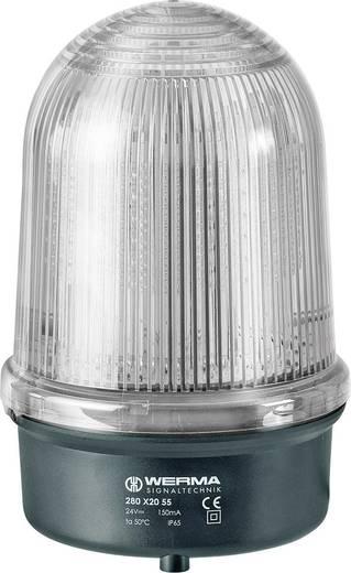 Signalleuchte Werma Signaltechnik 280.160.60 Rot 230 V/AC
