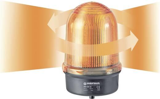 Rundumleuchte LED Werma Signaltechnik 280.320.55 Gelb Dauerlicht 24 V/DC