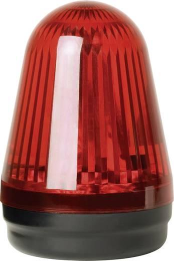 Signalleuchte LED ComPro Blitzleuchte BL90 2F Rot Dauerlicht, Blitzlicht 24 V/DC, 24 V/AC