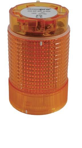 Signalsäulenelement LED ComPro CO ST 40 Gelb Dauerlicht, Blinklicht 24 V/DC, 24 V/AC 75 dB