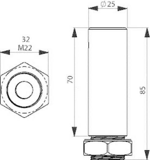 Signalgeber Rohradapter ComPro CO ST Passend für Serie (Signaltechnik) Signalelement Serie CO ST40, Signalelement