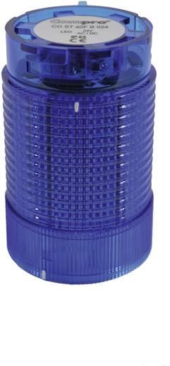 Signalsäulenelement LED ComPro CO ST 40 Blau Dauerlicht, Blinklicht 24 V/DC, 24 V/AC 75 dB