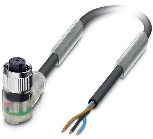 Sensor-/Aktor-Steckverbinder, konfektioniert M12 Buchse, gewinkelt 3 m Polzahl (RJ): 3 Phoenix Contact 1668263 SAC-3P- 3