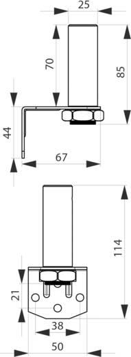 Signalgeber Montagewinkel ComPro CO ST Passend für Serie (Signaltechnik) Signalelement Serie CO ST40, Signalelemen