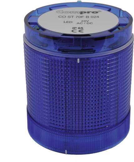 Signalsäulenelement LED ComPro CO ST 70 Dauerlicht, Blinklicht 24 V/DC, 24 V/AC 75 dB