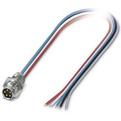 Zabudovateľný zástrčkový konektor pre senzory - aktory Phoenix Contact SACC-E-M 8MS-5CON-M 8/0,5 DN 1440119, 1 ks