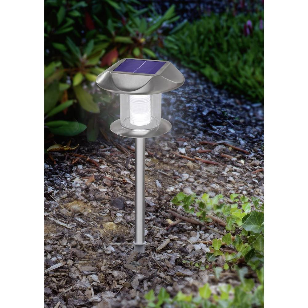 Lampe de jardin solaire esotec sunny 102093 ampoule led for Lampe led jardin