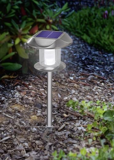 Solar-Einbauleuchte LED Warm-Weiß, Neutral-Weiß Esotec Sunny 102093 Edelstahl