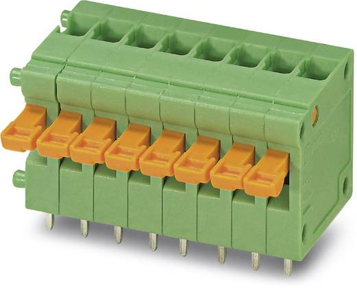 Federkraftklemmblock 1.00 mm² Polzahl 1 ZFKDS 1-V-W-3,81 Phoenix Contact Grün 50 St.