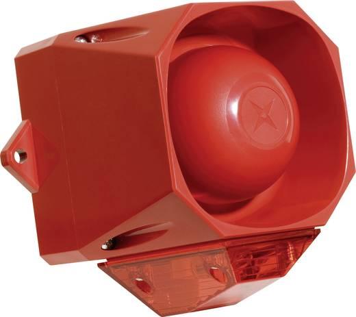 Kombi-Signalgeber ComPro Asserta Midi AV Blinklicht, Dauerton 110 dB