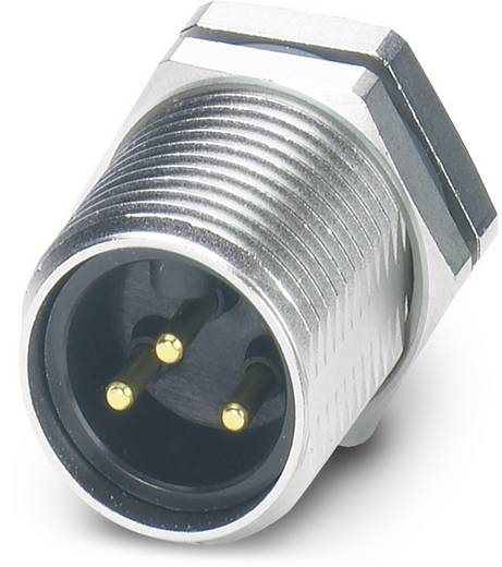 "Sensor-/Aktor-Einbausteckverbinder 7/8"" Stecker, Einbau Polzahl (RJ): 3 Phoenix Contact 1455007 SACC-DSI-MINMS-3CON-UNF"