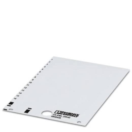Gerätemarkierung Montage-Art: aufkleben Beschriftungsfläche: 20 x 8 mm Passend für Serie Baugruppen und Schaltanlagen Ge