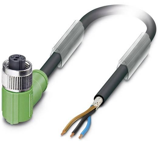 Sensor-/Aktor-Steckverbinder, konfektioniert M12 Buchse, gewinkelt 5 m Polzahl: 3 Phoenix Contact 1682838 SAC-3P- 5,0-PU