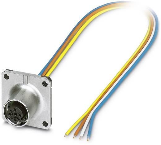 Sensor-/Aktor-Einbausteckverbinder M12 Buchse, Einbau Polzahl (RJ): 4 Phoenix Contact 1440960 SACC-SQ-M12FSD-4CON-25F/0
