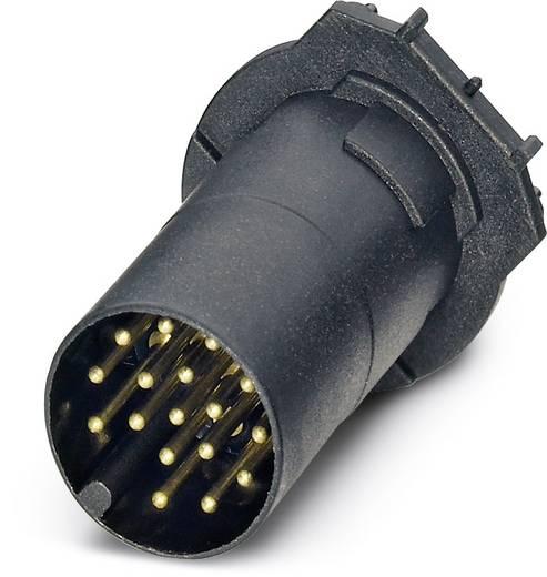 Sensor-/Aktor-Einbausteckverbinder M12 Kontaktträger Polzahl (RJ): 17 Phoenix Contact 1457597 SACC-CI-M12MS-17CON- TOR