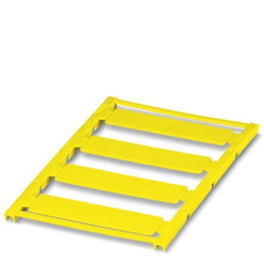 Gerätemarkierung Montage-Art: aufkleben Beschriftungsfläche: 60 x 15 mm Passend für Serie Universaleinsatz Gelb Phoenix