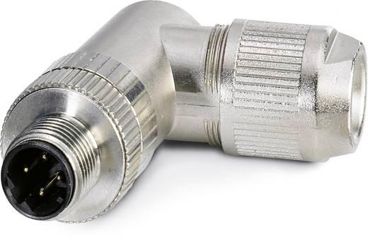 Sensor-/Aktor-Datensteckverbinder M12 Stecker, gewinkelt Polzahl: 4 Phoenix Contact 1554539 SACC-M12MRD-4Q SH PN 1 St.