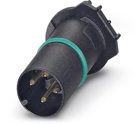Sensor-/Aktor-Einbausteckverbinder M12 Kontaktträger Polzahl: 4 Phoenix Contact 1437164 SACC-CI-M12MS-4CON-L180 THR 60
