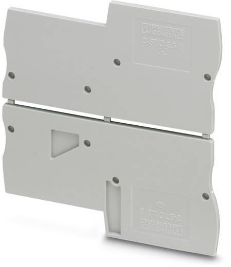 D-STIO 2,5/3 - Abschlussdeckel D-STIO 2,5/3 Phoenix Contact Inhalt: 50 St.