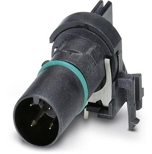 Sensor-/Aktor-Einbausteckverbinder M12 Kontaktträger Polzahl (RJ): 4 Phoenix Contact 1439887 SACC-CI-M12MS-4CON-L90 SH