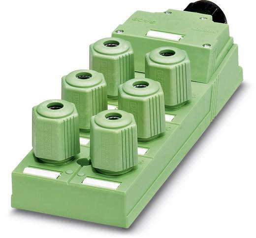 Sensor/Aktorbox passiv QUICKON-Verteiler SACB-6Q/4P-L-SC 1662942 Phoenix Contact 1 St.