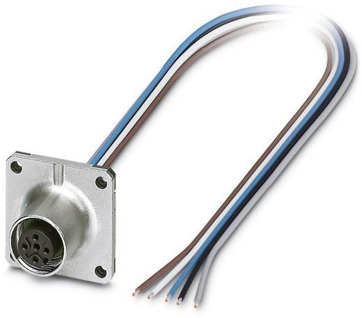 Sensor-/Aktor-Einbausteckverbinder M12 Buchse, Einbau 0.50 m Polzahl: 5 Phoenix Contact 1441655 SACC-SQ-M12FS-5CON-20/0,