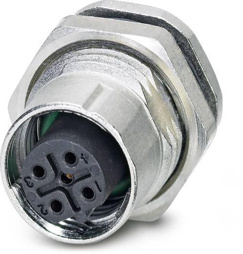 Sensor-/Aktor-Einbausteckverbinder M12 Buchse, Einbau Polzahl (RJ): 5 Phoenix Contact 1558564 SACC-DSI-FSB-5CON-L180/12