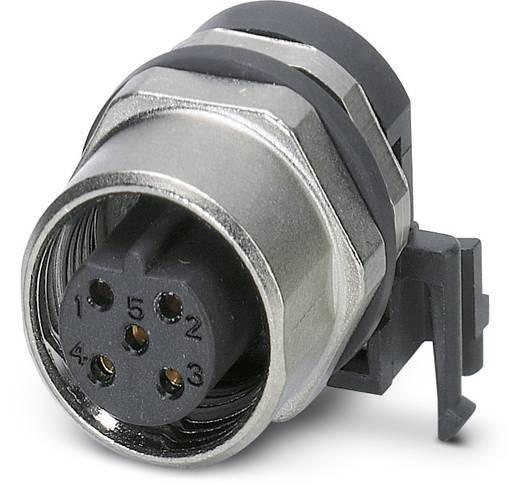 Sensor-/Aktor-Einbausteckverbinder M12 Buchse, Einbau Polzahl (RJ): 5 Phoenix Contact 1436576 SACC-DSIV-FSB-5CON-L90 SC