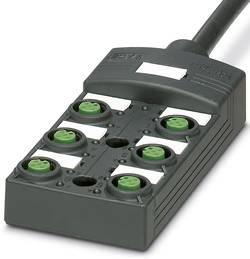 Répartiteur passif M12 filetage en plastique Phoenix Contact SACB-6/12-L- 5,0PUR SCO P 1452660 1 pc(s)