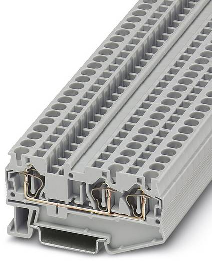 ST 4-TWIN - Durchgangsreihenklemme ST 4-TWIN Phoenix Contact Grau Inhalt: 50 St.