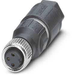 Neupravený zástrčkový konektor pre senzory - aktory Phoenix Contact SACC-M 8FS-3QO-0,25-M 1441040, 1 ks