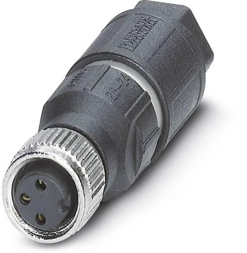 Sensor-/Aktor-Steckverbinder, unkonfektioniert M8 Buchse, gerade Polzahl: 3 Phoenix Contact 1441040 SACC-M 8FS-3QO-0,25