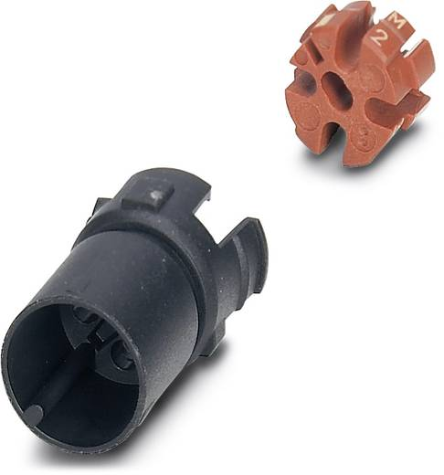 Sensor-/Aktor-Steckverbinder, unkonfektioniert M12 Kontaktträger Polzahl (RJ): 4 Phoenix Contact 1440931 SACC-MCI-M12MS
