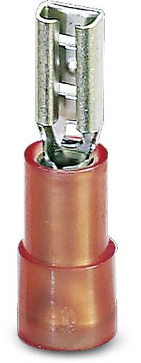 Flachsteckhülse Steckbreite: 6.3 mm Steckdicke: 0.8 mm 180 ° Teilisoliert Rot Phoenix Contact 3240052 100 St.