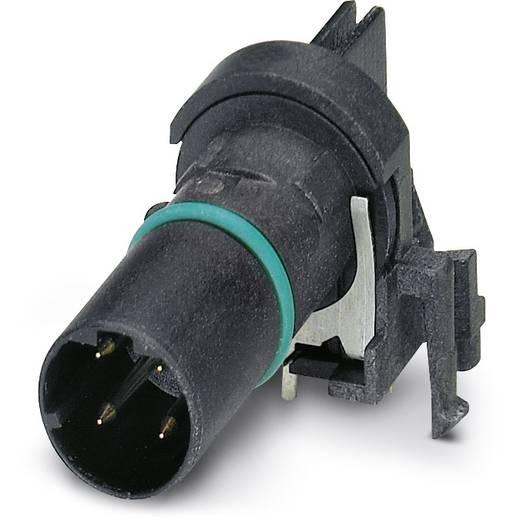 Sensor-/Aktor-Einbausteckverbinder M12 Kontaktträger Polzahl: 4 Phoenix Contact 1436673 SACC-CI-M12MSD-4CON-L90 SH SCO