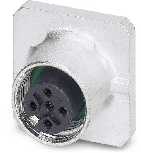 Sensor-/Aktor-Einbausteckverbinder M12 Buchse, Einbau Polzahl (RJ): 5 Phoenix Contact 1456446 SACC-SQ-M12FS-5CON-20-L18