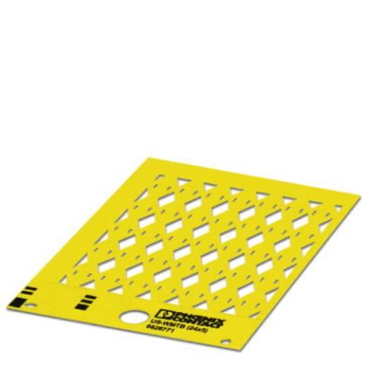Einzeladerkennzeichner Montage-Art: einfädeln Beschriftungsfläche: 24 x 5.50 mm Passend für Serie Einzeldrähte Gelb Phoe