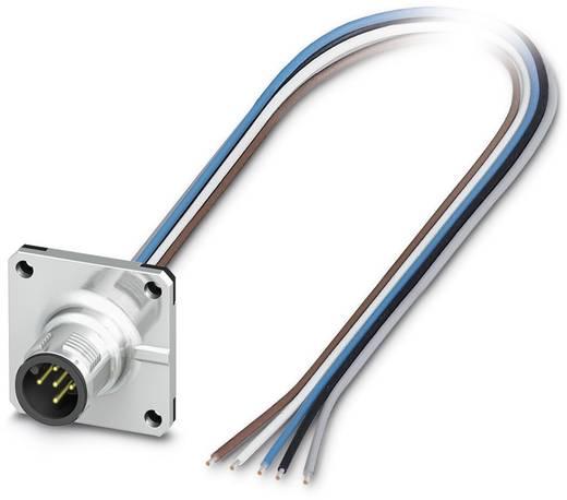 Sensor-/Aktor-Einbausteckverbinder M12 Stecker, Einbau 0.50 m Polzahl (RJ): 5 Phoenix Contact 1441642 SACC-SQ-M12MS-5CON