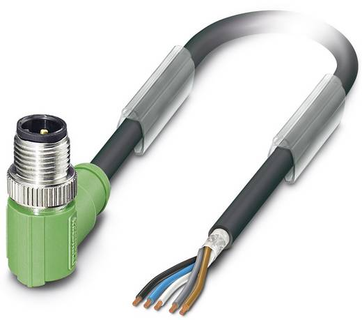 Sensor-/Aktor-Steckverbinder, konfektioniert M12 Stecker, gewinkelt 1.50 m Polzahl (RJ): 5 Phoenix Contact 1682757 SAC-5