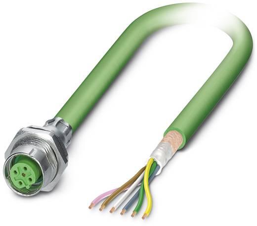 Sensor-/Aktor-Einbausteckverbinder M12 Buchse, Einbau 0.50 m Polzahl (RJ): 5 Phoenix Contact 1437601 SACCBP-FSB-5CON-PG9