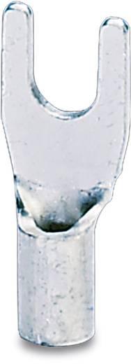 Gabelkabelschuh 0.5 mm² 1 mm² Loch-Ø=6.5 mm Unisoliert Metall Phoenix Contact 3240141 100 St.